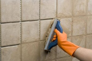 Latex grout